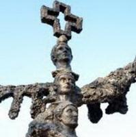 Spomenik Konstantinu, Niš, 4,5m