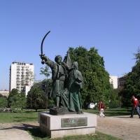 """""""Miloš Obrenović -Takovski ustanak"""", Beograd visina 3,6m"""